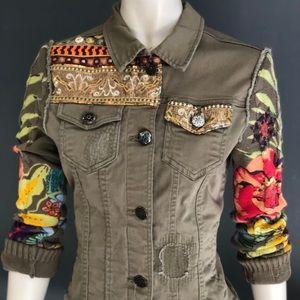 Desigual denim jacket 42